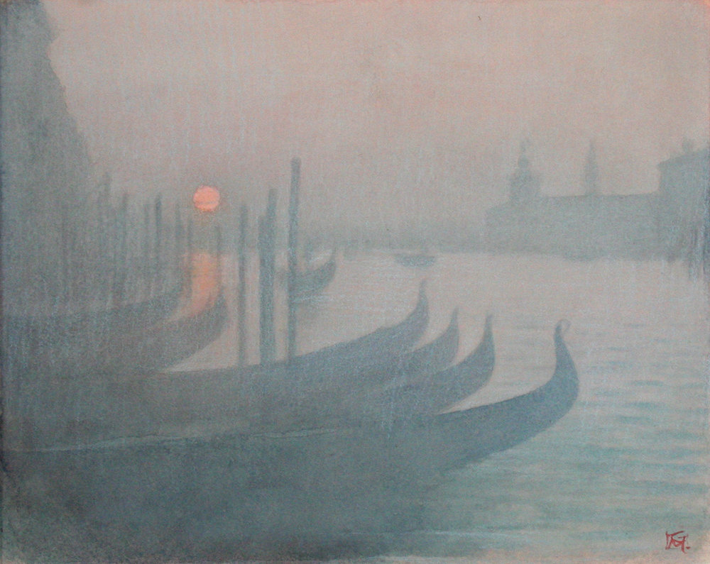 Evening Mist Across the Grand Canal, Venice