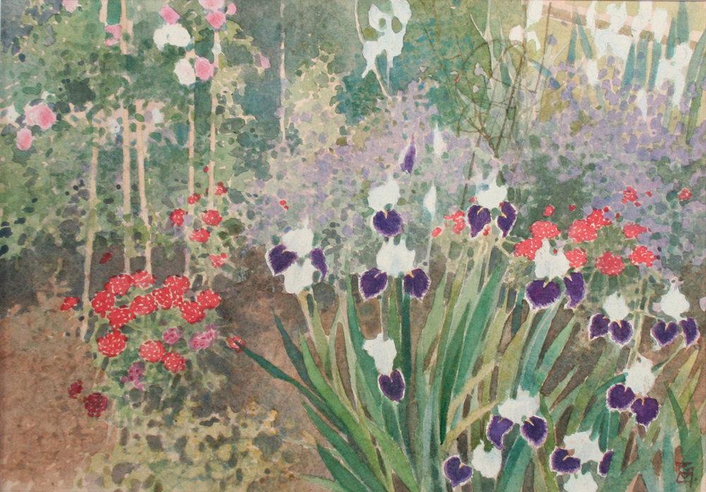 Iris & Rose - Sissinghurst, Kent