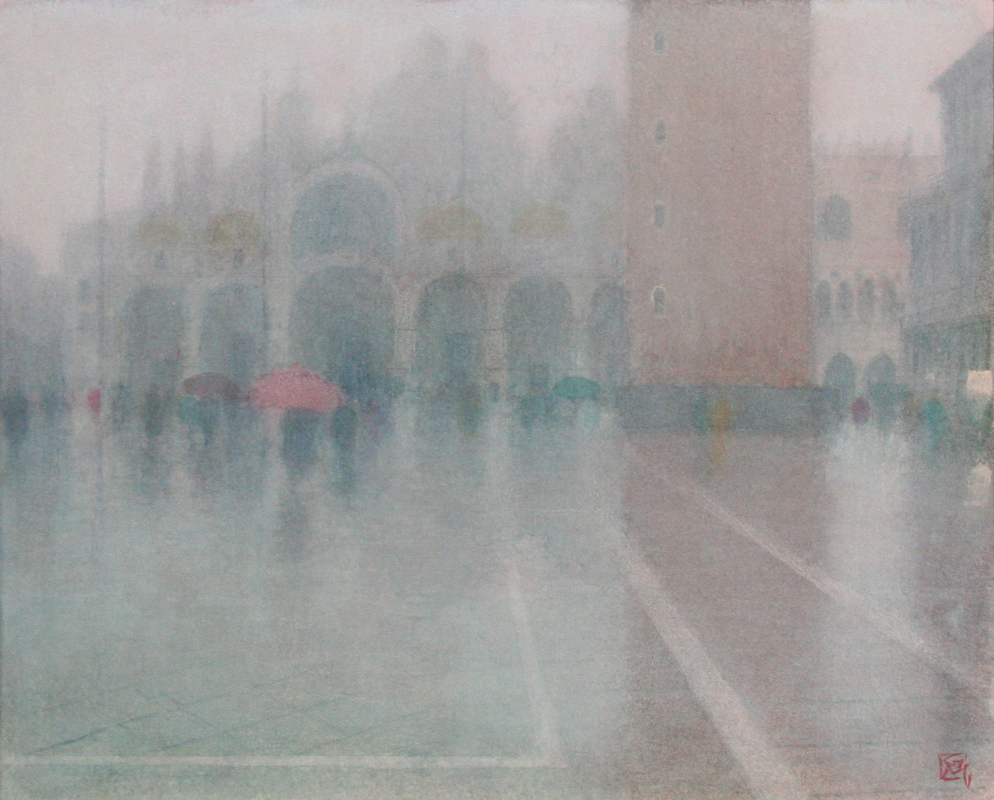 October Mist & Rain - San Marco, Venice