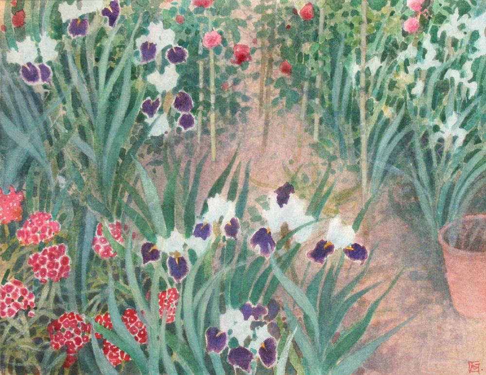 Sissinghurst Iris, Rose & Lily - Kent