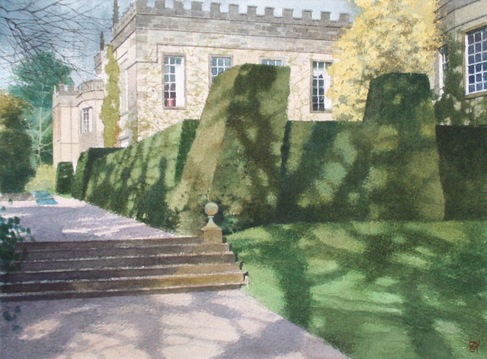 The Shadows of Renishaw Hall