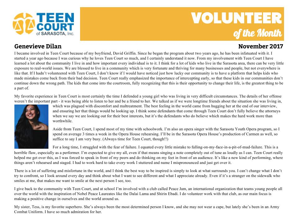 Volunteer of the Month - Genevieve Dilan.jpg