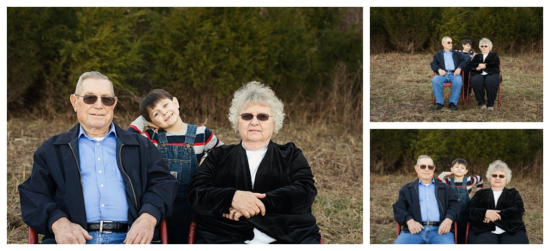 My Family - Middle Tn Photographer - Grandparents & Grandson