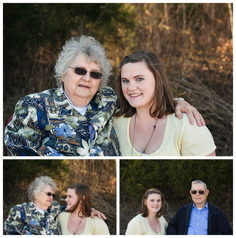 Grandparents & granddaughter - Middle Tn Photographer