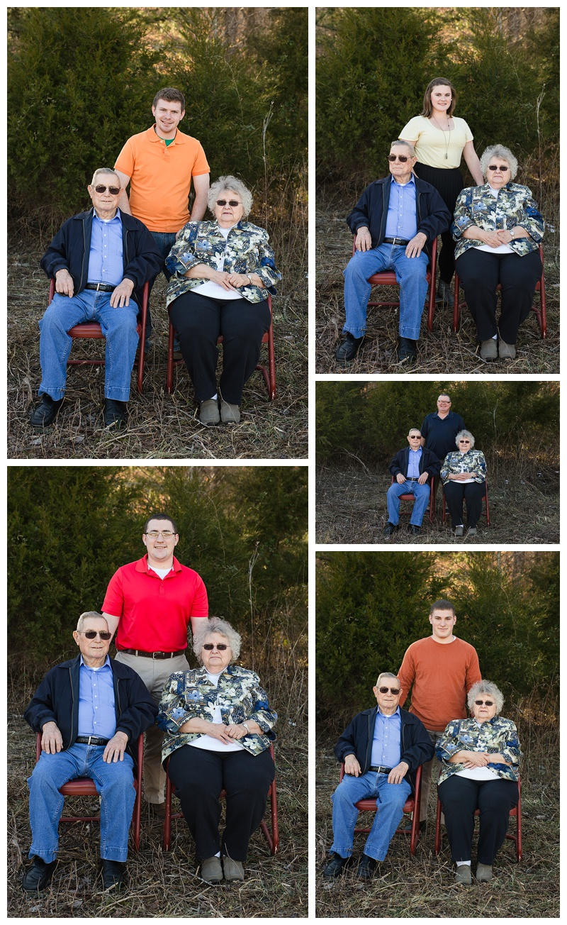 Grandparents & grandkids - Middle Tn Photographer
