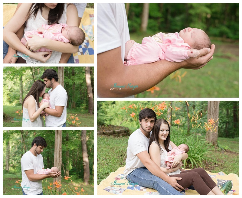 Lifestyle Newborn Photography - Shauna Hargis Photography - Cookeville - Middle TN Family photography