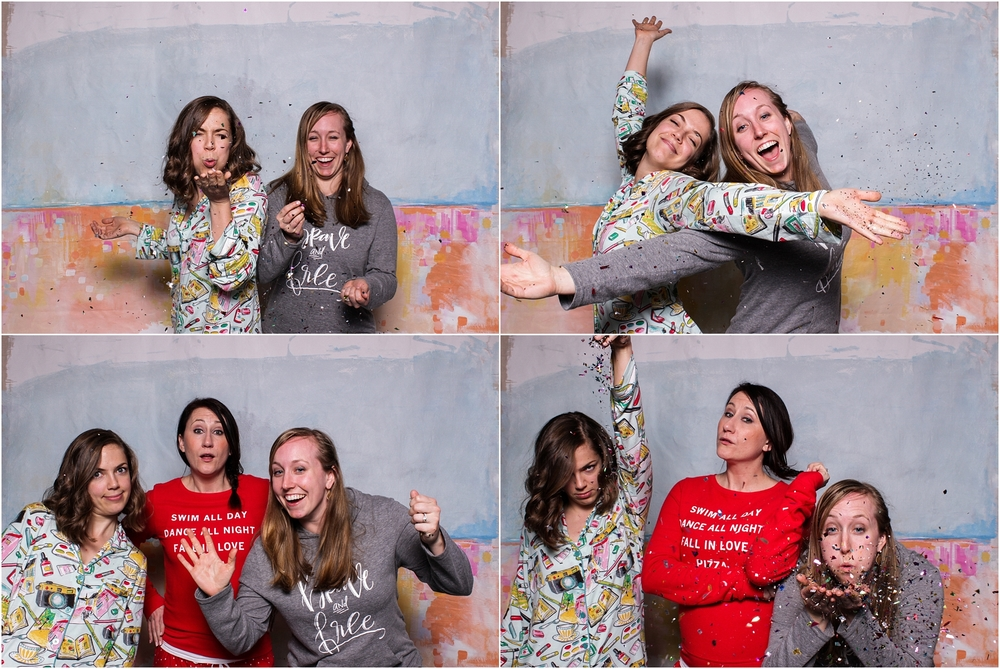 Photo booth fun with Abby Grace & Mary!
