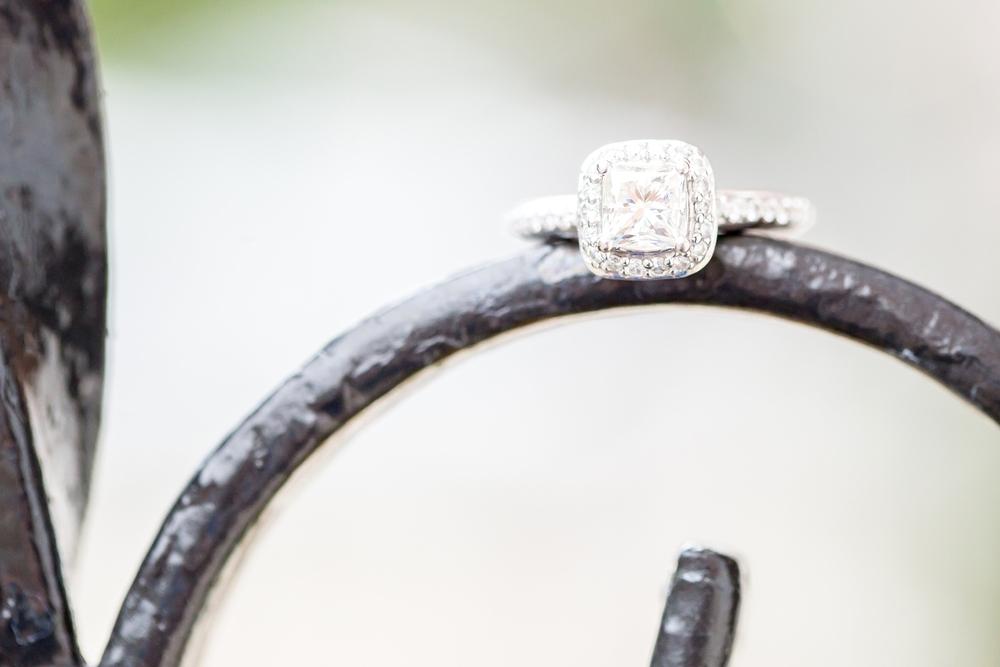 Great job Erik, her ring is stunning!