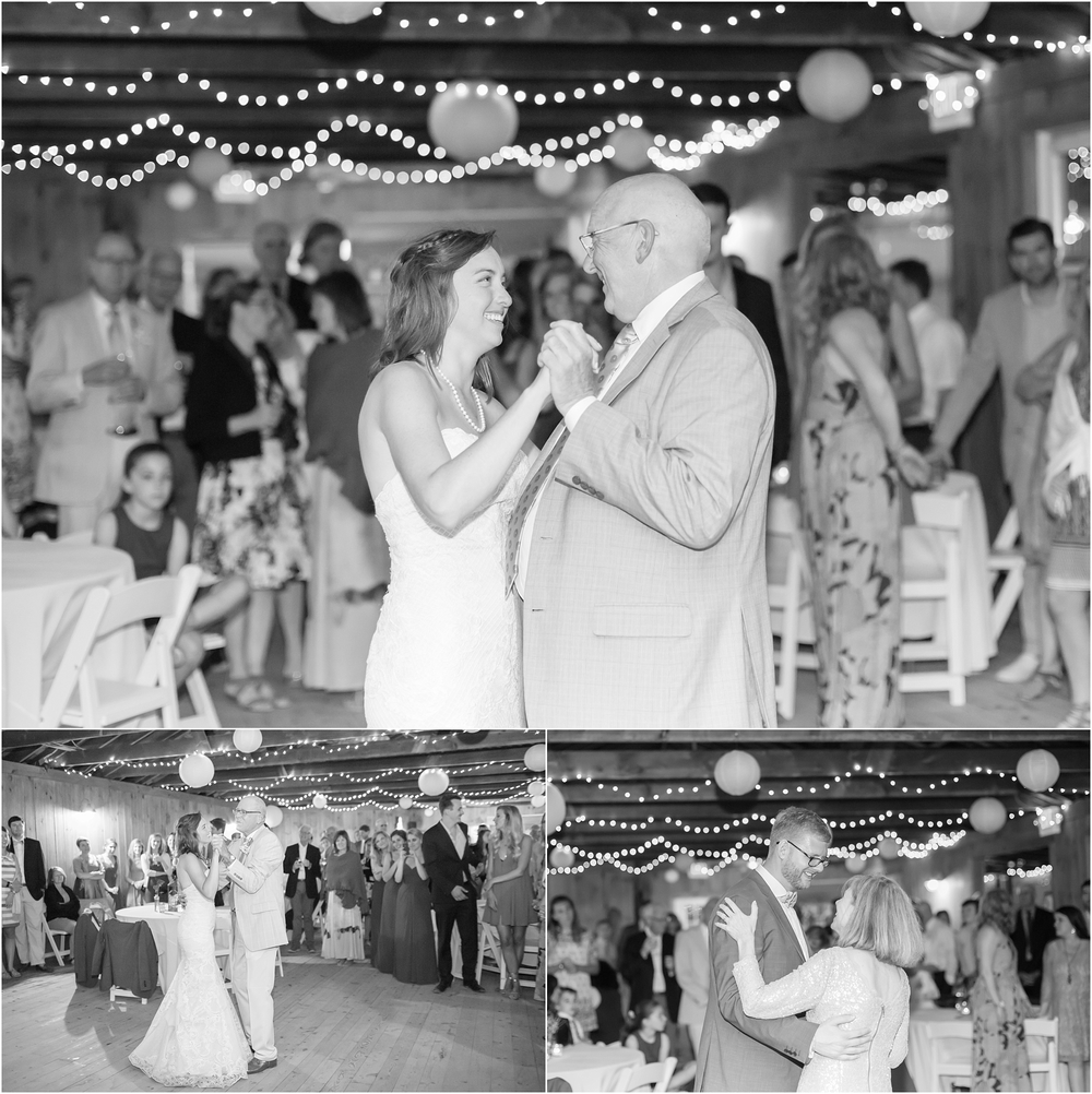Katherine not only got to dance with her Dad but also her Dad's partner. It was so special!