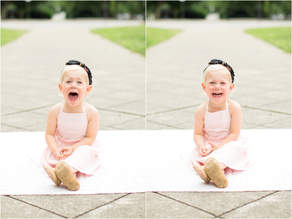 The faces of Adilynn!