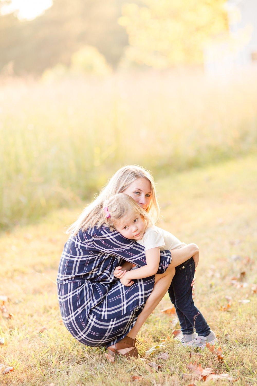 Maddie loves her hugs!