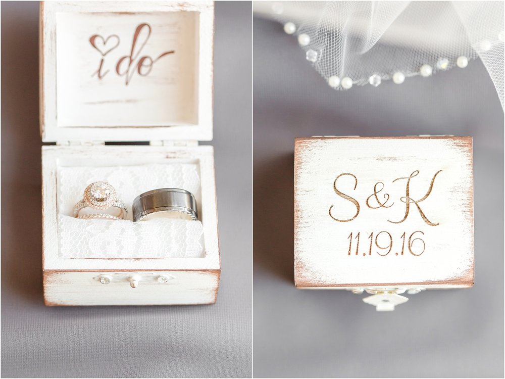 Love this personalized ring box!