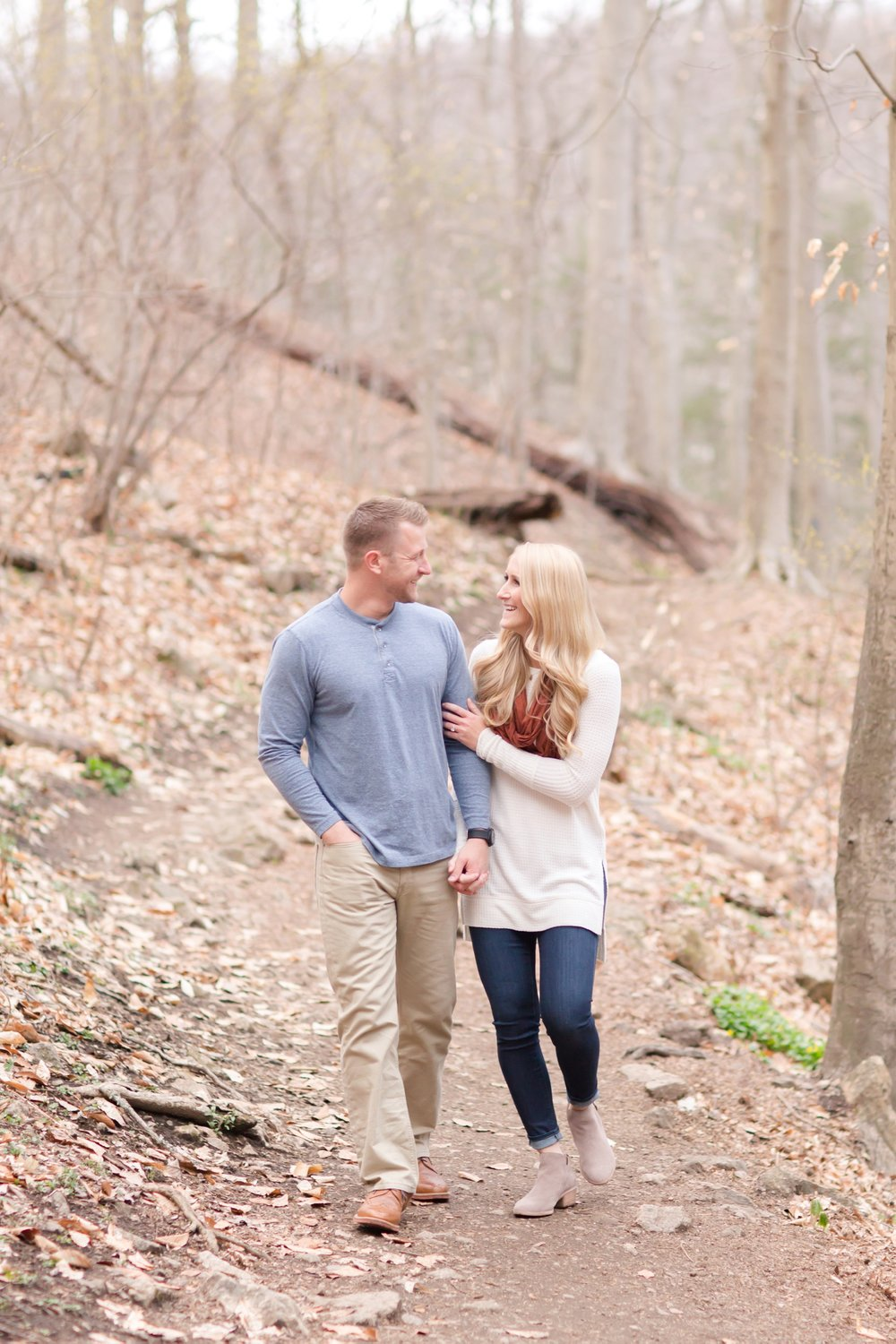 Kristine & Joe Engagement-307_anna grace photography baltimore maryland engagement and wedding photographer patapsco state park engagement photo.jpg