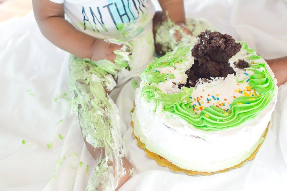 Cake leg. Haha!