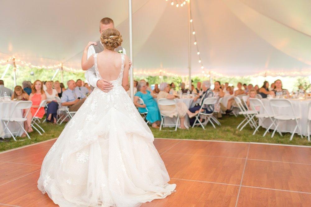 Beautiful dress on a beautiful bride!