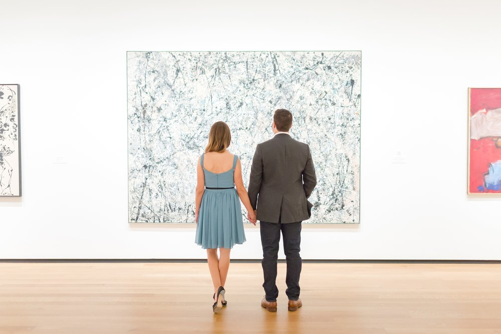 One of Larisa's favorite paintings. I love Pollock!