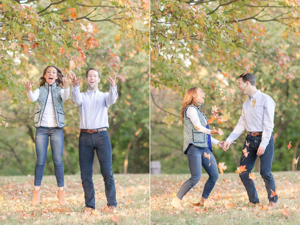 I told them to jump and show their excitement for getting married. I love it!!