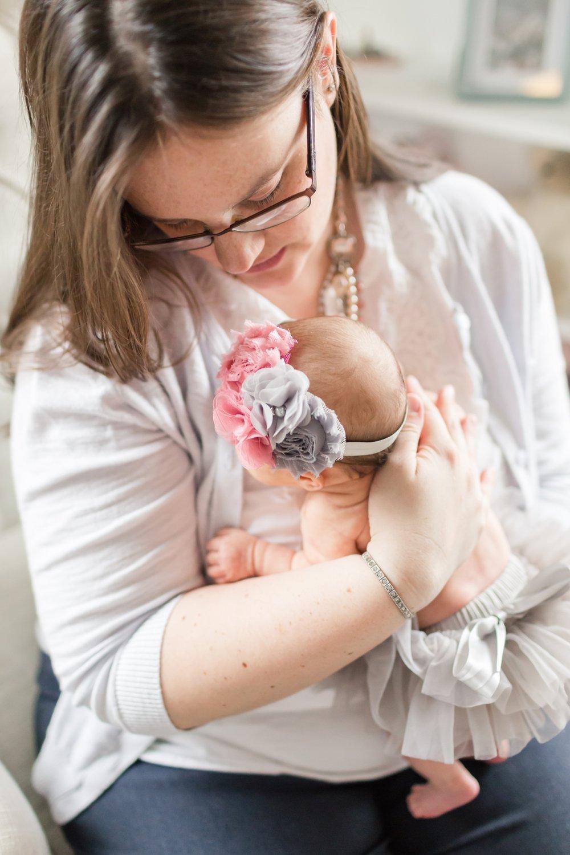 Melissa, you are a beautiful mama!