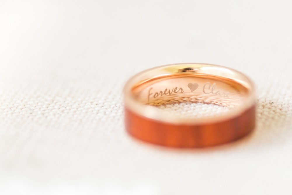 Love this engraving in Steven's ring!