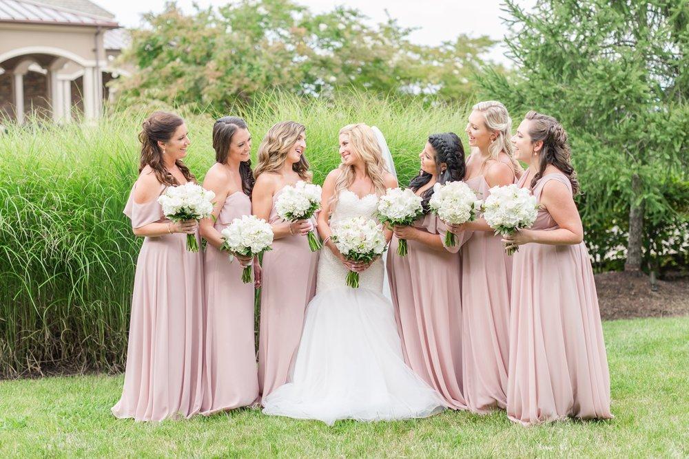 Beautiful bridesmaids!