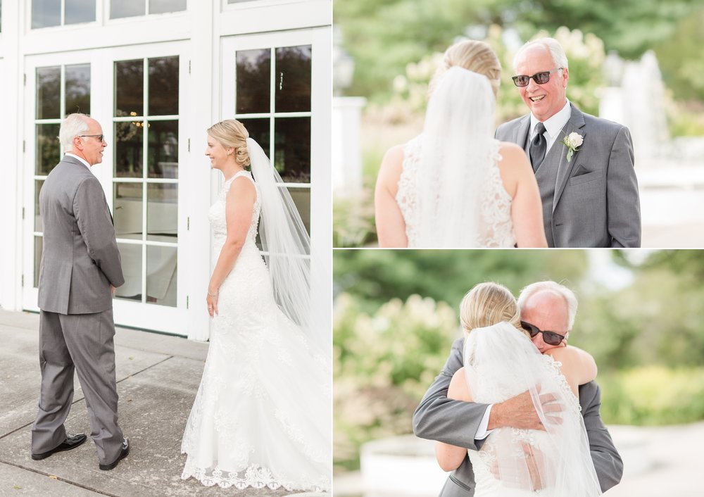 Emotional First Look with Dad!