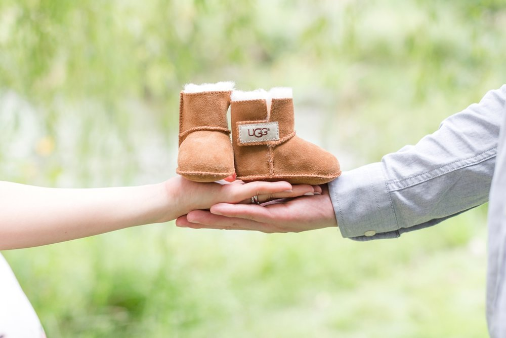 How cute are these baby UGGs?!