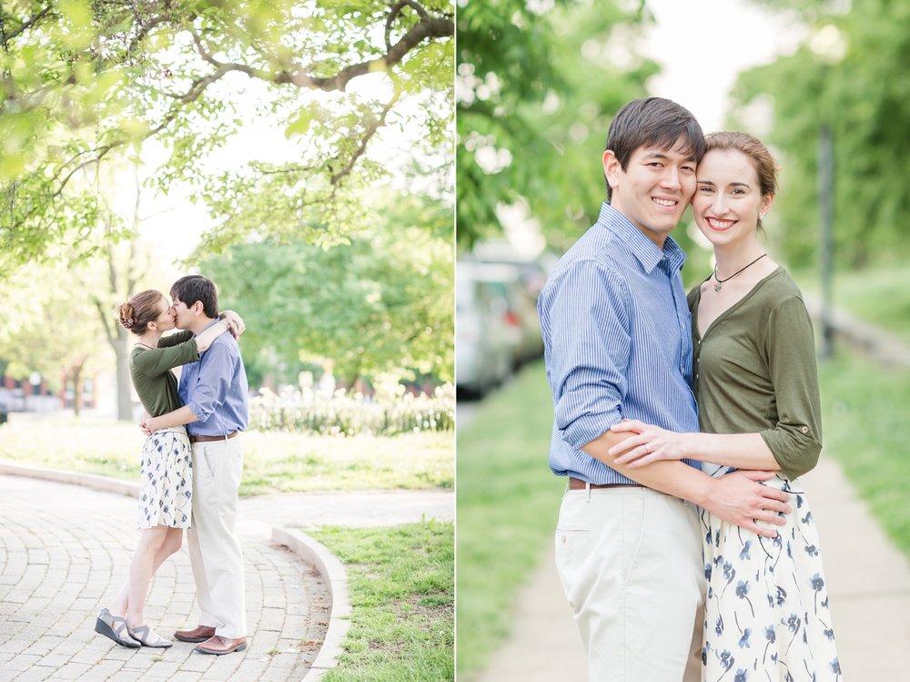 See more from   Brian & Rose's engagement session at Patterson Park here  !