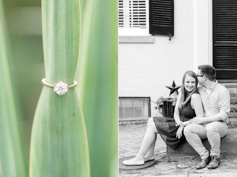 See more from   Chris and Lindy's engagement session in Old Town Alexandria here  !