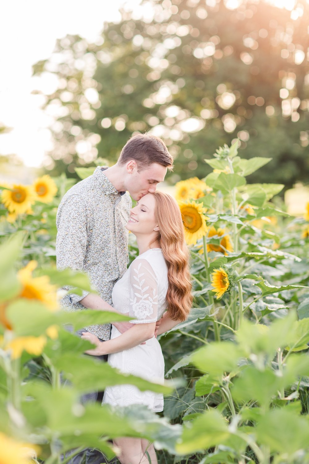 That light and the sunflowers is magical with these two!!