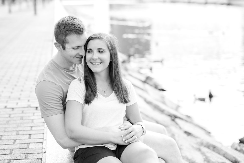 See more from   Daniel and Jamie's downtown Baltimore engagement session here  !