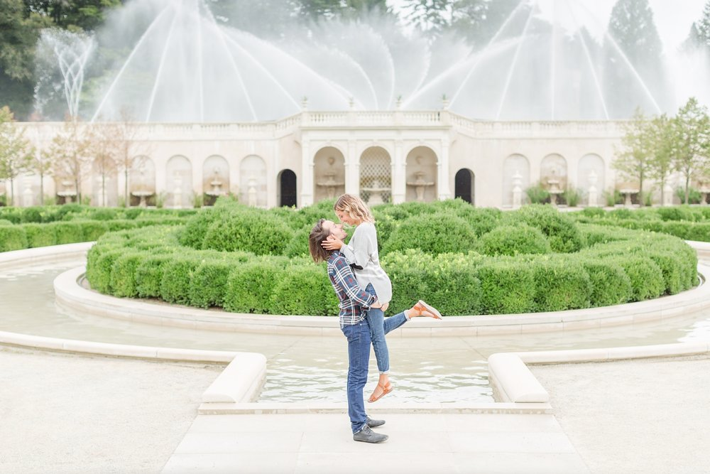 See more from   Kyle and Kaitlyn's engagement session at Longwood Gardens here  !