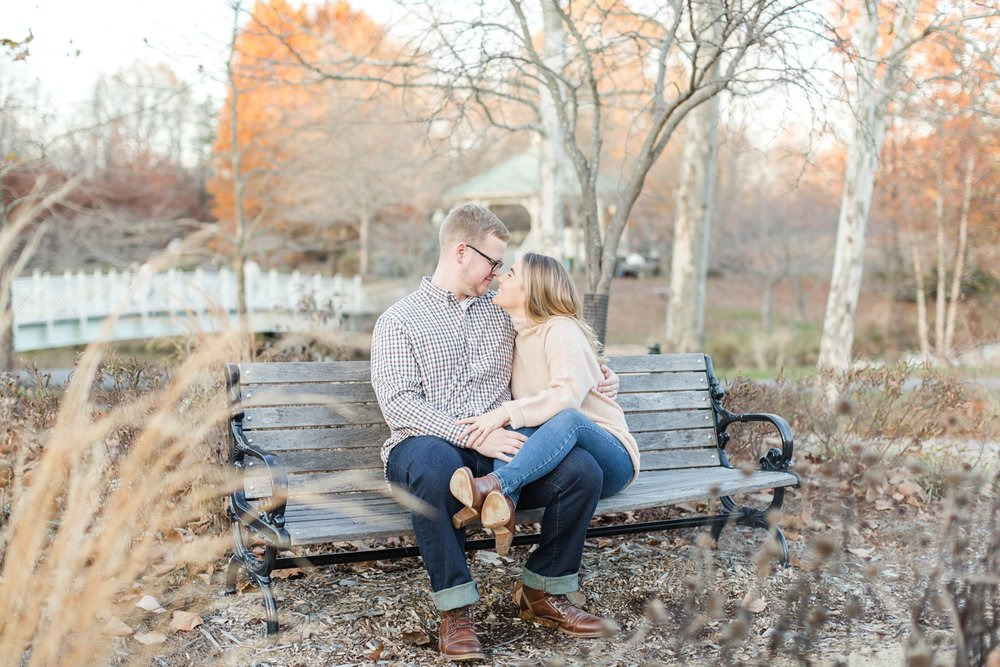 See more from   Christian and Chelsea's Quiet Waters Park engagement session here  !