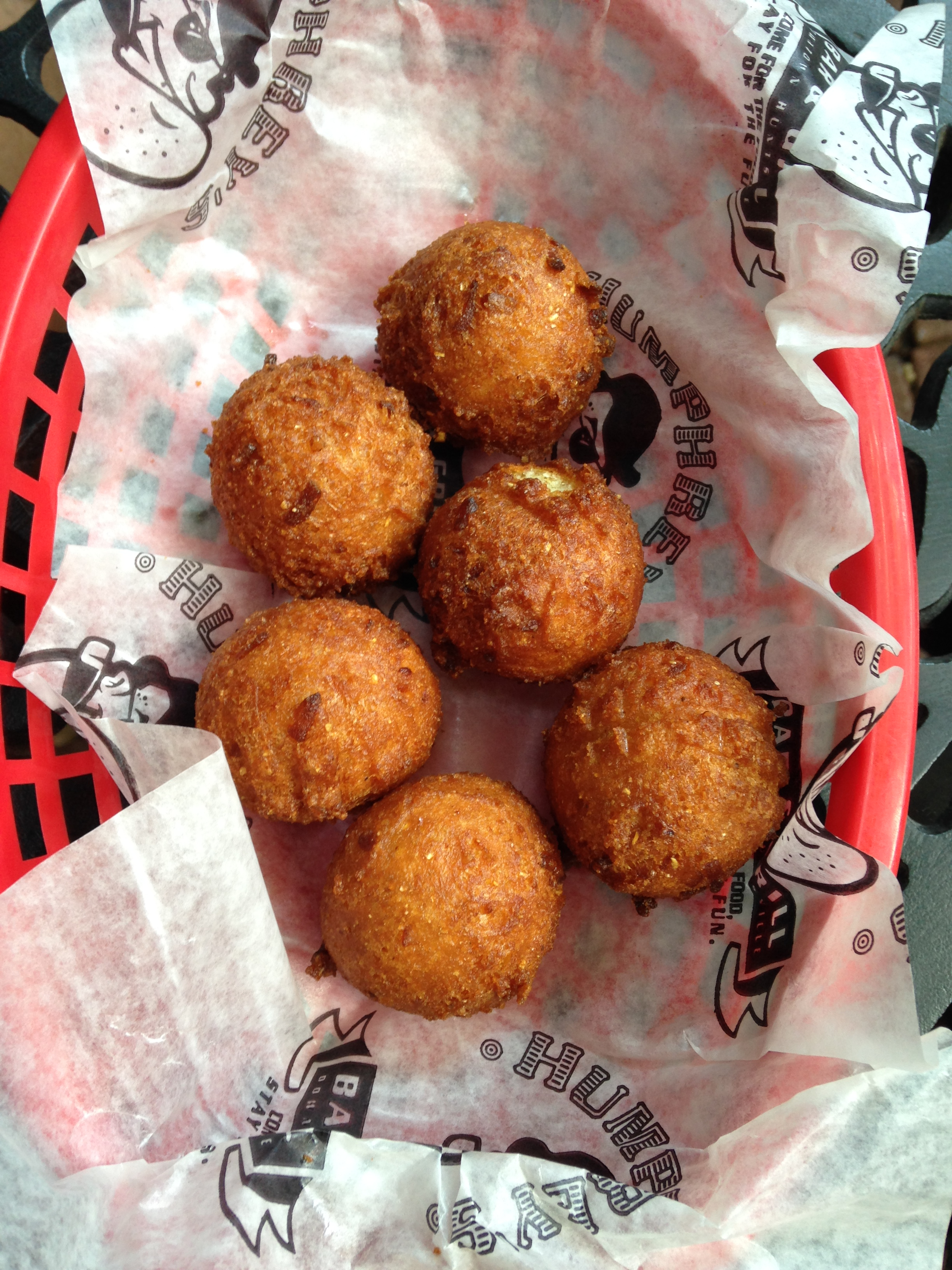 Amazing hushpuppies!