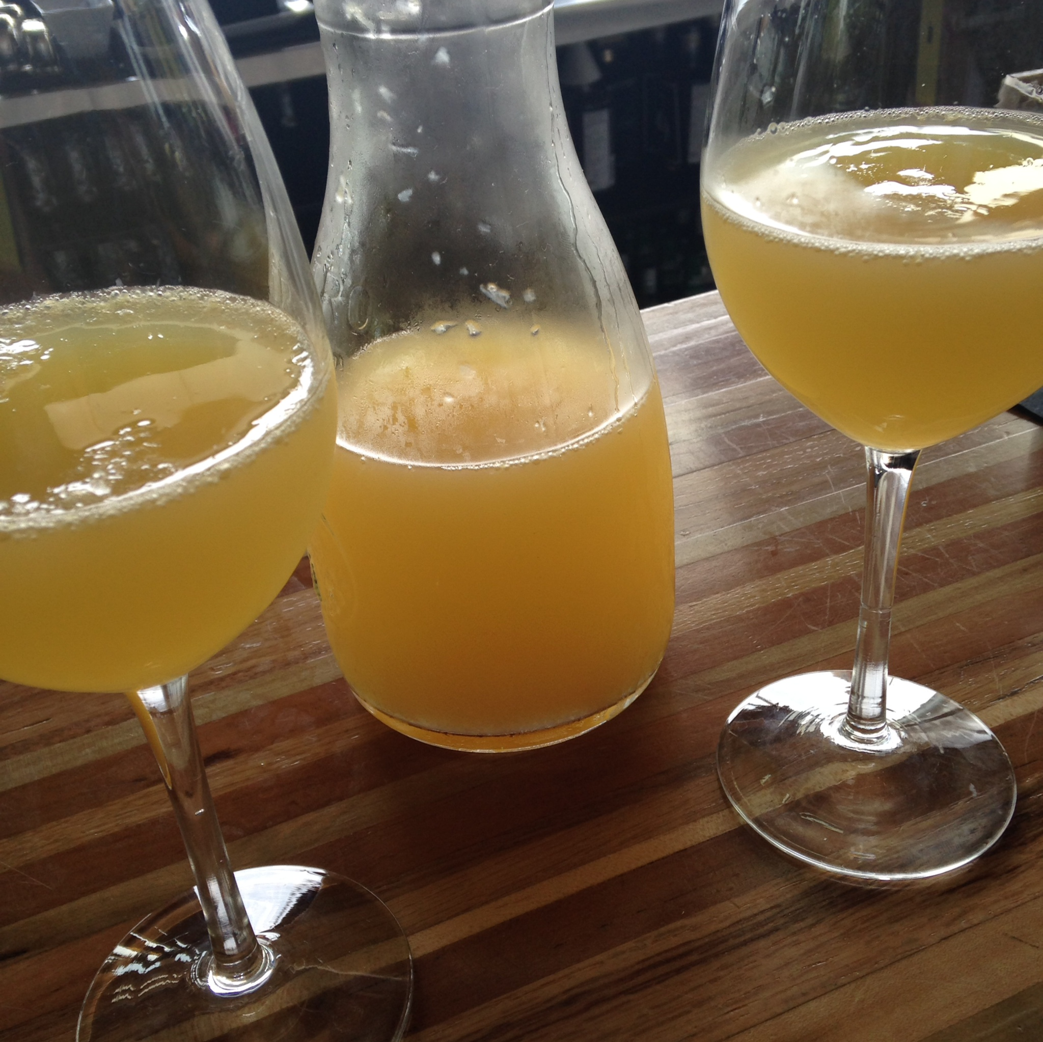 Obviously. Mimosas - The Flying Squirrel - Chattanooga, TN