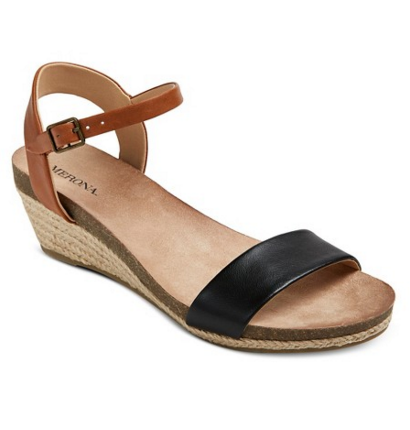 black brown sandals