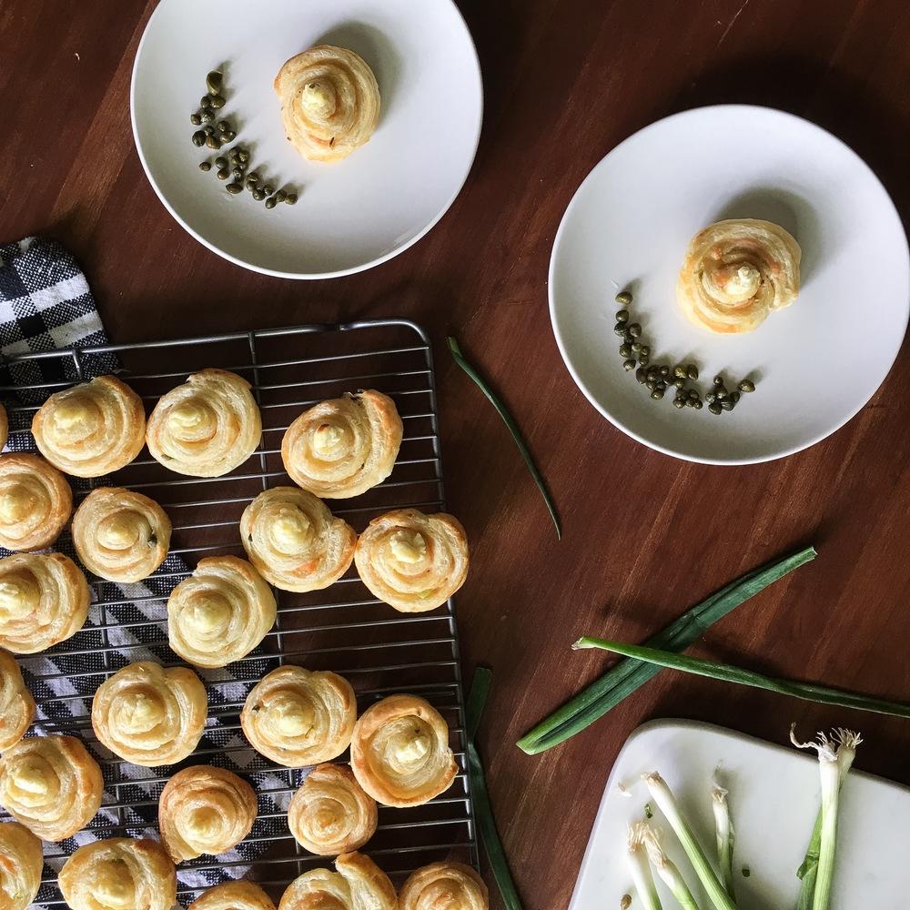 simple smoked salmon pastries 02