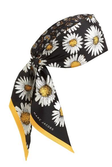daisy neck scarf marc jacobs