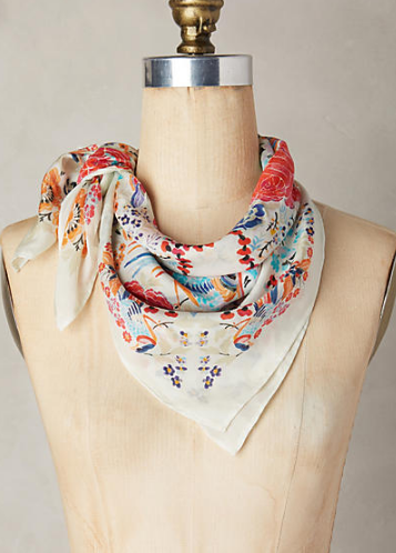 anthro neck scarf