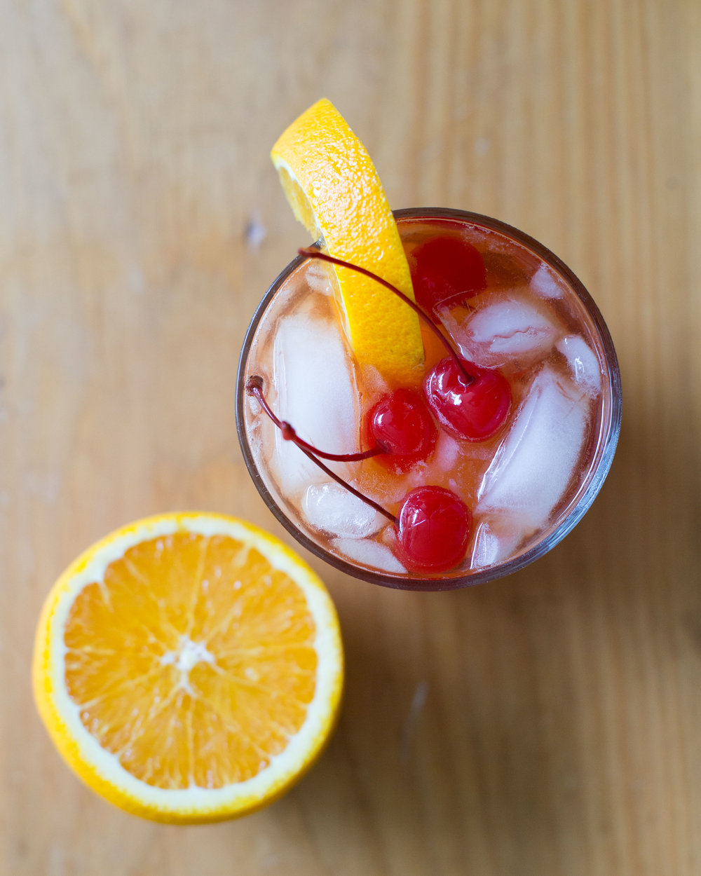 A classic recipe for the perfect Old Fashioned, constructed lovingly by my father.