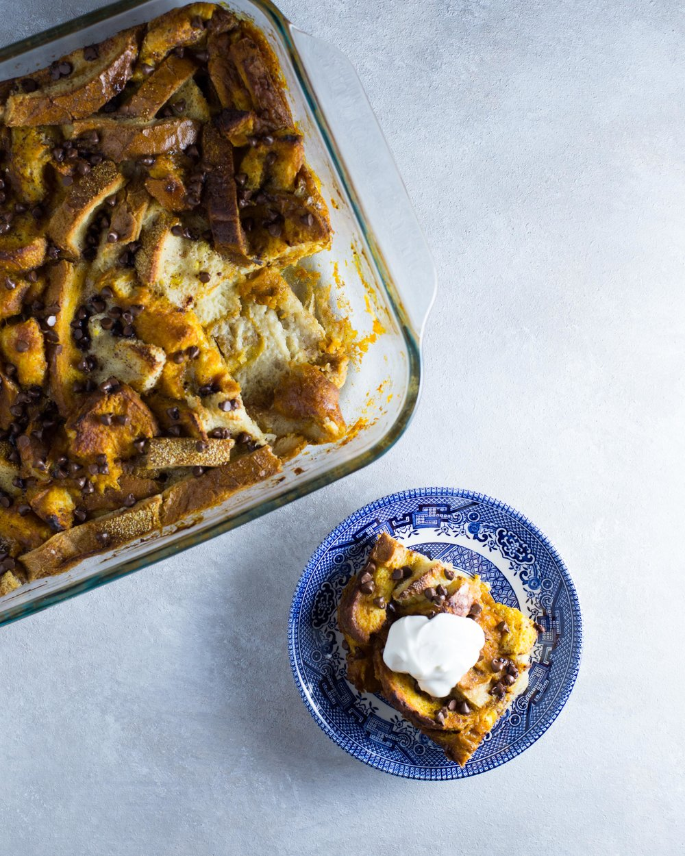 This sweet potato bread pudding is the perfect breakfast, brunch, or dessert dish!