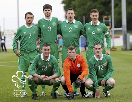 Ireland v Russia - 2015 CP Football World Championships