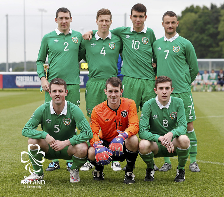 Ireland v Argentina - 2015 CP Football World Championships