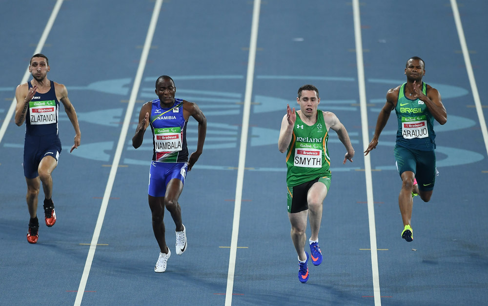 Athletics: Jason Smyth T13 100m Heats