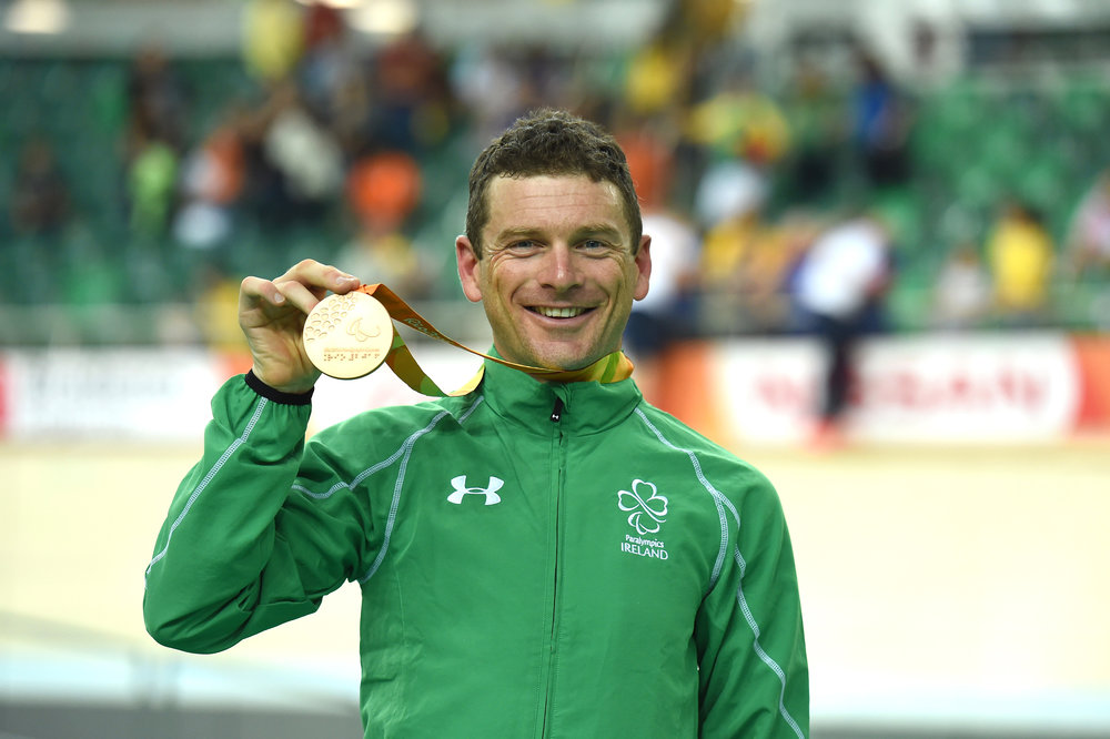 Cycling: Eoghan Clifford with Bronze Medal