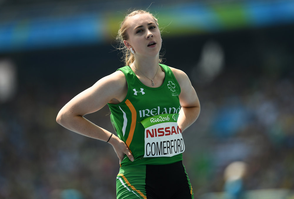 Athletics: Orla Comerford in the T13 100m Final