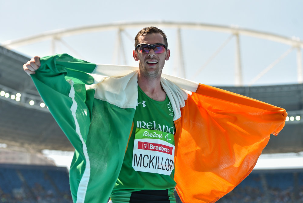 Athletics: Michael McKillop in the T37 1500m Final