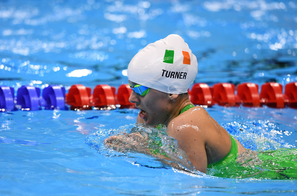 Swimming: Nicole Turner in the SM6 200m IM Final