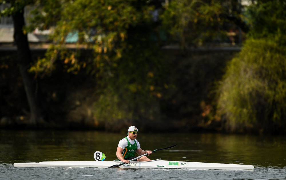 Canoeing: Patrick O'Leary in the KL3 200m Final