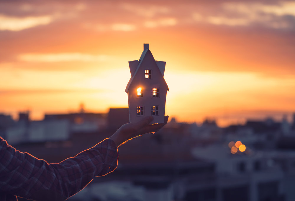 Moving to a new home after a divorce