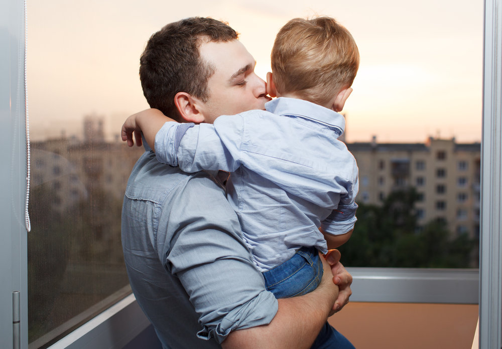 A child's relationship with the non-custodial parent must be preserved